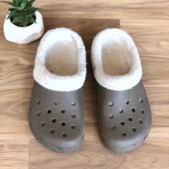 CROCS Shoes | Fur Lined Crocs Sandals